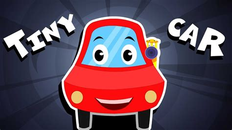 red car tiny red car song nursery rhymes