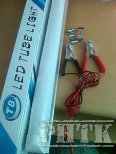 Jual Lampu Tl Led Dc Tabung Tube Light 12v T8 Tl 9w 6400k