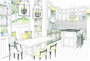 dining table elevation drawing google search interior With kitchen colors with white cabinets with dessins crayon papier