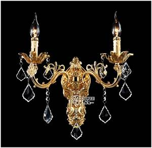 Aliexpress buy wholesale golden crystal wall light