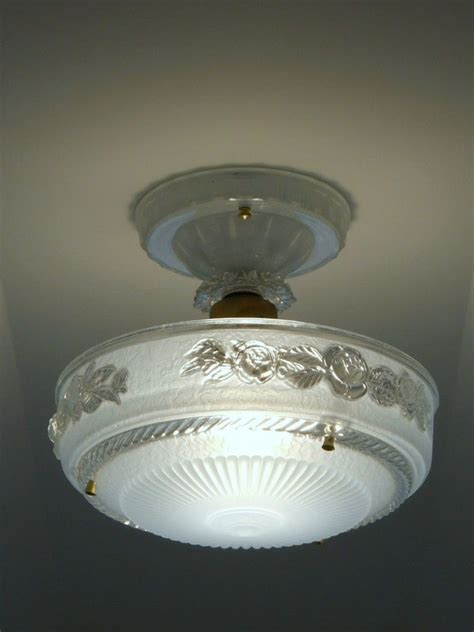 c 30 s deco vintage ceiling light fixture chandelier