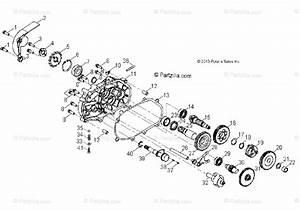 Polaris Atv 2014 Oem Parts Diagram For Drive Train  Transmission