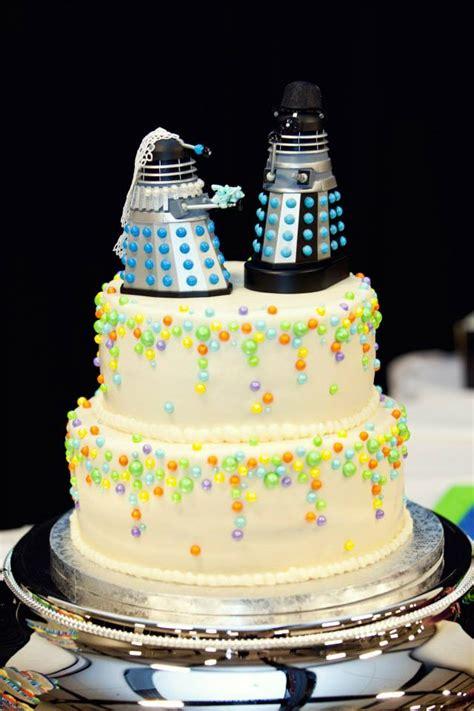 topos de bolo de casamento nerd criativos casal nerd