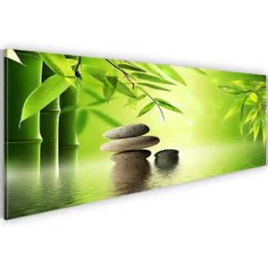wandbilder fã r wohnzimmer bild kunstdruck prestigeart 501911a bilder auf vlies leinwand kunstdrucke bambus feng shui