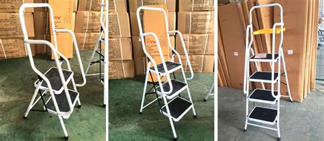 Chuangquanxing En131 New 2,3,4 Steps Safety Ladder With