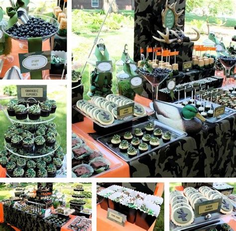 Hunting Celebration Of Life Memorial Party Ideas Hunting