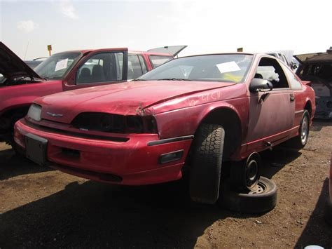 junkyard find 1990 ford thunderbird coupe the