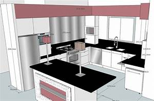 emejing cuisine sur mesure petite surface photos design With petite cuisine sur mesure
