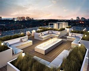Exteriormagnificent modern roof terrace design ideas plus for Good and stunning terrace design ideas
