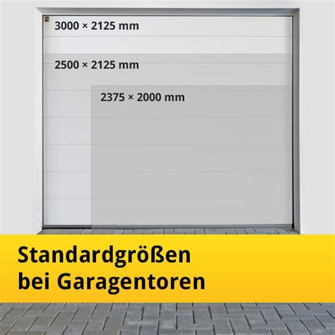 maße garagentor standard standard garagentor gr 246 223 e