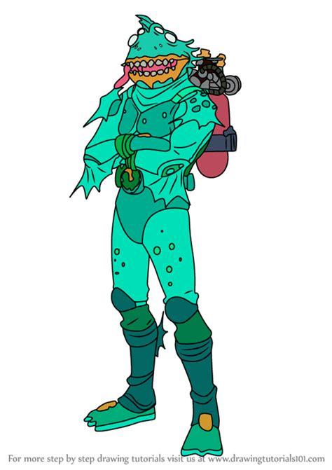 learn   draw moisty merman  fortnite fortnite