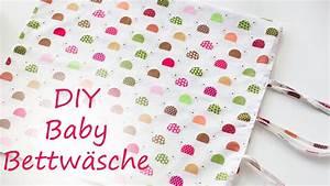 Baby Bettwäsche Günstig : diy baby bettw sche einfach selber n hen youtube ~ A.2002-acura-tl-radio.info Haus und Dekorationen