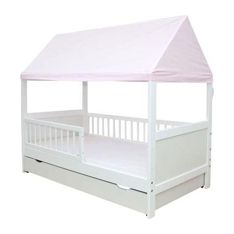 Kinderbett Mit Dach by Kinderbett Juniorbett Haus 160 X 70 Cm Mit Dach In