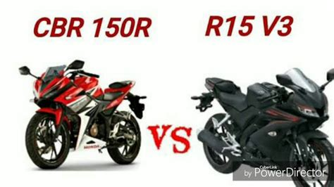 Cb 150r And Yamaha R15 by R15 V3 0 Vs Cbr 150 R Review