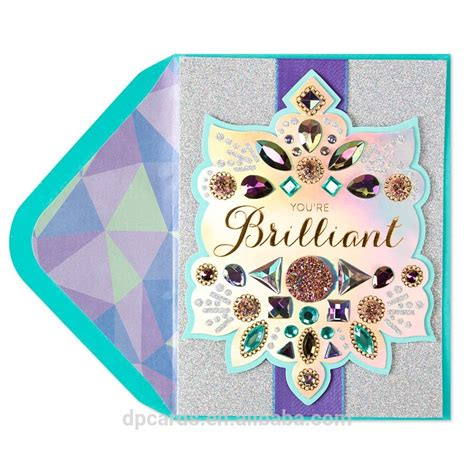 High Quality Happy Birthday Greeting Card With Best Price