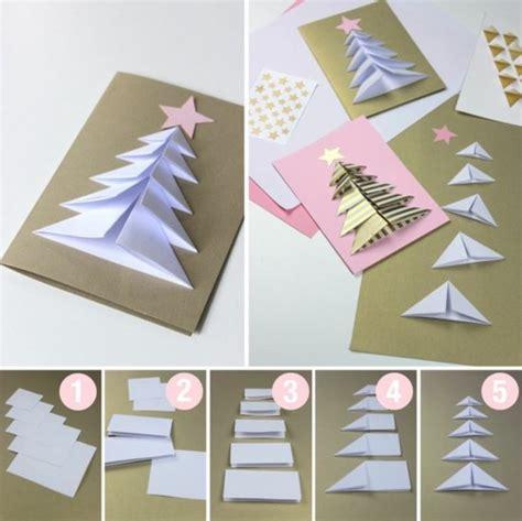 ideen fuer weihnachtskarten selber basteln