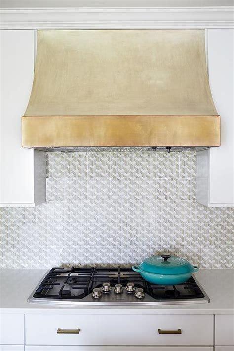 Gold Kitchen Vent Hood   Contemporary   Kitchen