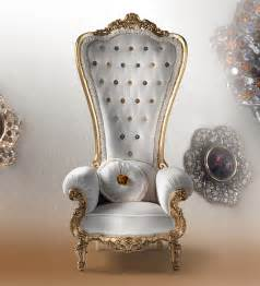 party furniture rental nyc regal armchair throne by caspani