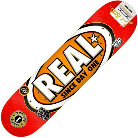 Real Skateboard Decks 80 by Real Skateboards Real Chima Ferguson Since Day One