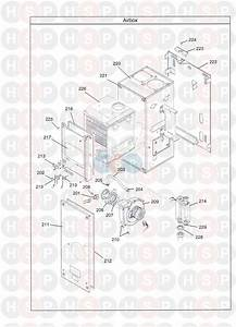 Potterton Promax 30 He Plus Boiler Diagram  Combustion Chamber