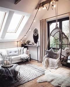 Lichterkette Im Zimmer : 99 tumblr zimmer dachschr ge ideen ~ Markanthonyermac.com Haus und Dekorationen