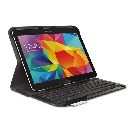 pc bureau ecran tactile logitech ultrathin keyboard folio pour samsung galaxy tab