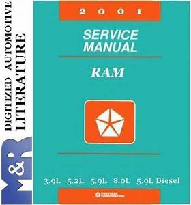 2001 Dodge Ram 1500 2500 3500 Service Manual  U0026 Parts List