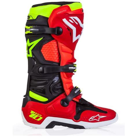 motocross boots closeout alpinestars tech 10 le torch boots revzilla
