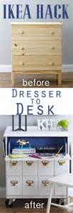 Tarva 6 Drawer Dresser Hack by Ikea Dresser Makeover Amp Bhg Link Party In My Own Style
