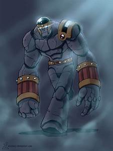 Stone Golem Colors by erickenji on DeviantArt