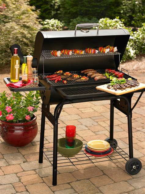 outdoor grilling charcoal vs gas outdoor grills hgtv