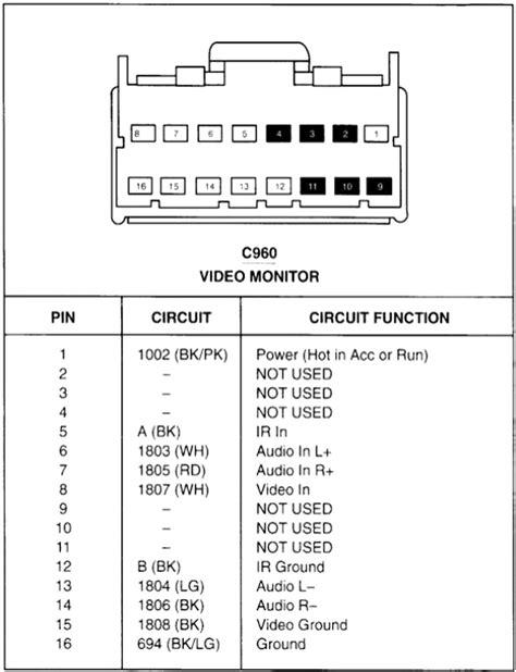 Kenwood Kdc Wiring Harness Diagram