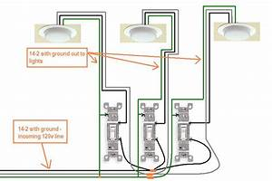 Wiring Diagram 3 Gang Light Switch