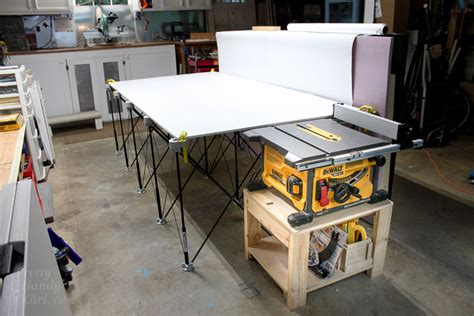 table  stand  collapsible  feed work table