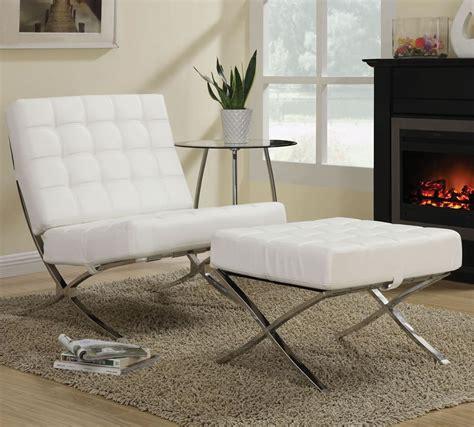 cheap kock barcelona chair in white