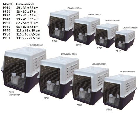 kennel sizes for travel airline approved pet carriers enfield produce
