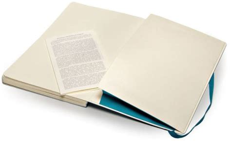 Moleskine Classic Soft Underwater Blue Large Dotted