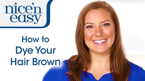 home hair colour   dye  hair brown  home