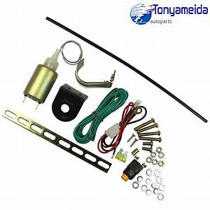 Trunk Release Solenoid Pop Truck Electric Open Kit Hatch