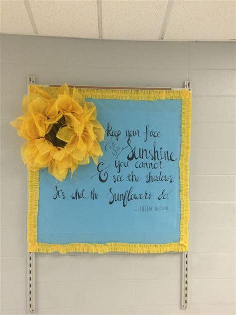 the 25 best sunflower bulletin board ideas on