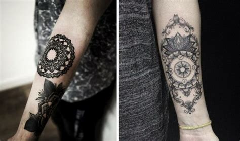 Tattoo Handgelenk Frau Mandala Tattoo Art