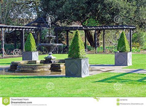 jardin d agr 233 ment photo stock image 69799790