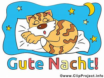 Nacht Gute Clipart Night Natt God Noite