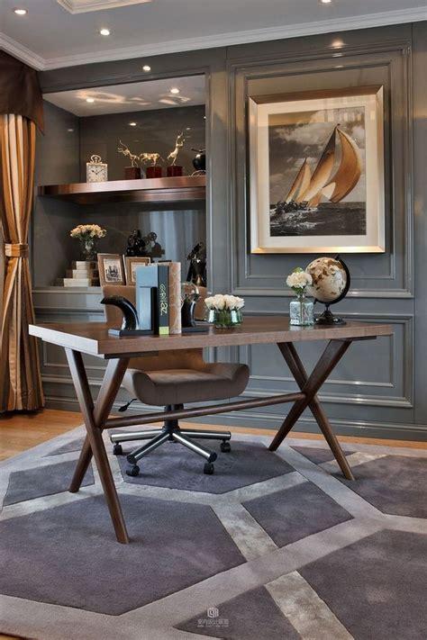 60+ Masculine Office Decor Inspiration 45 - Furniture ...