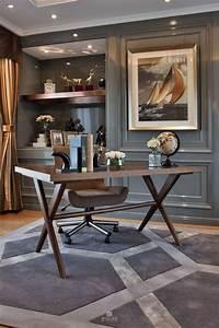 60, Masculine, Office, Decor, Inspiration, 45, U2013, Furniture, Inspiration