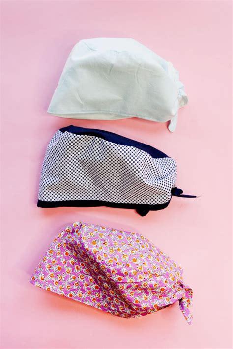 scrub cap patterns  sewing life