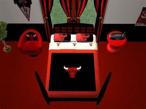 chicago bulls bed set mod the sims chicago bulls bedroom for cja1113