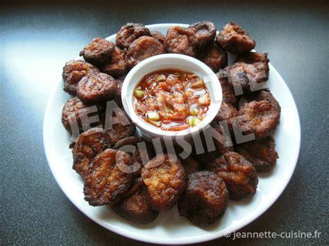 jeannette cuisine claclo de banane beignets ivoiriens apéritif