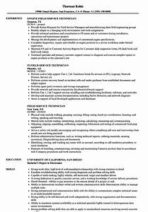 field service technician resume samples velvet jobs With field service technician resume sample