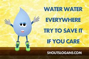 Save Water Slogans and Sayings